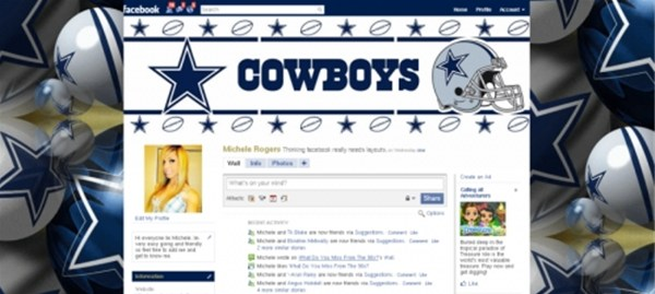Dallas Cowboys Facebook